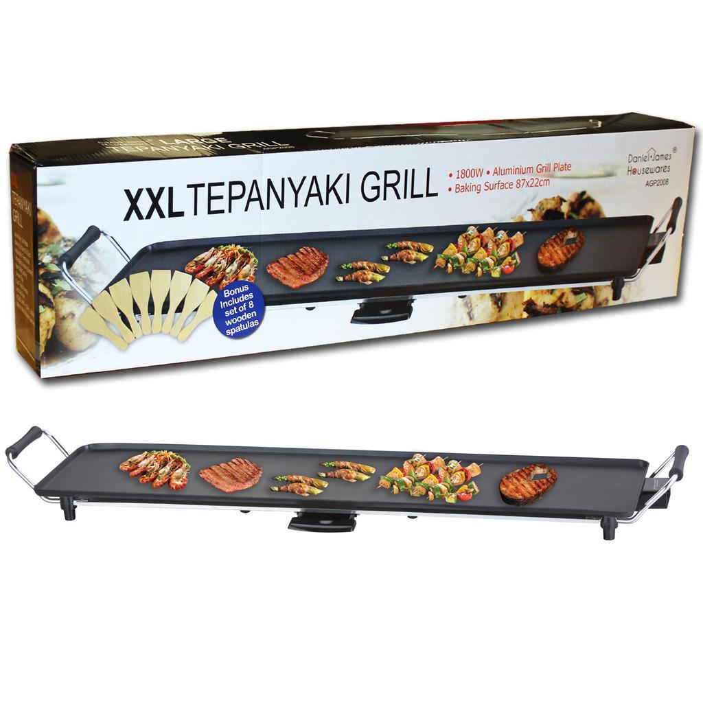 XXL Teppanyaki Table Grill Griddle Barbecue Daniel James