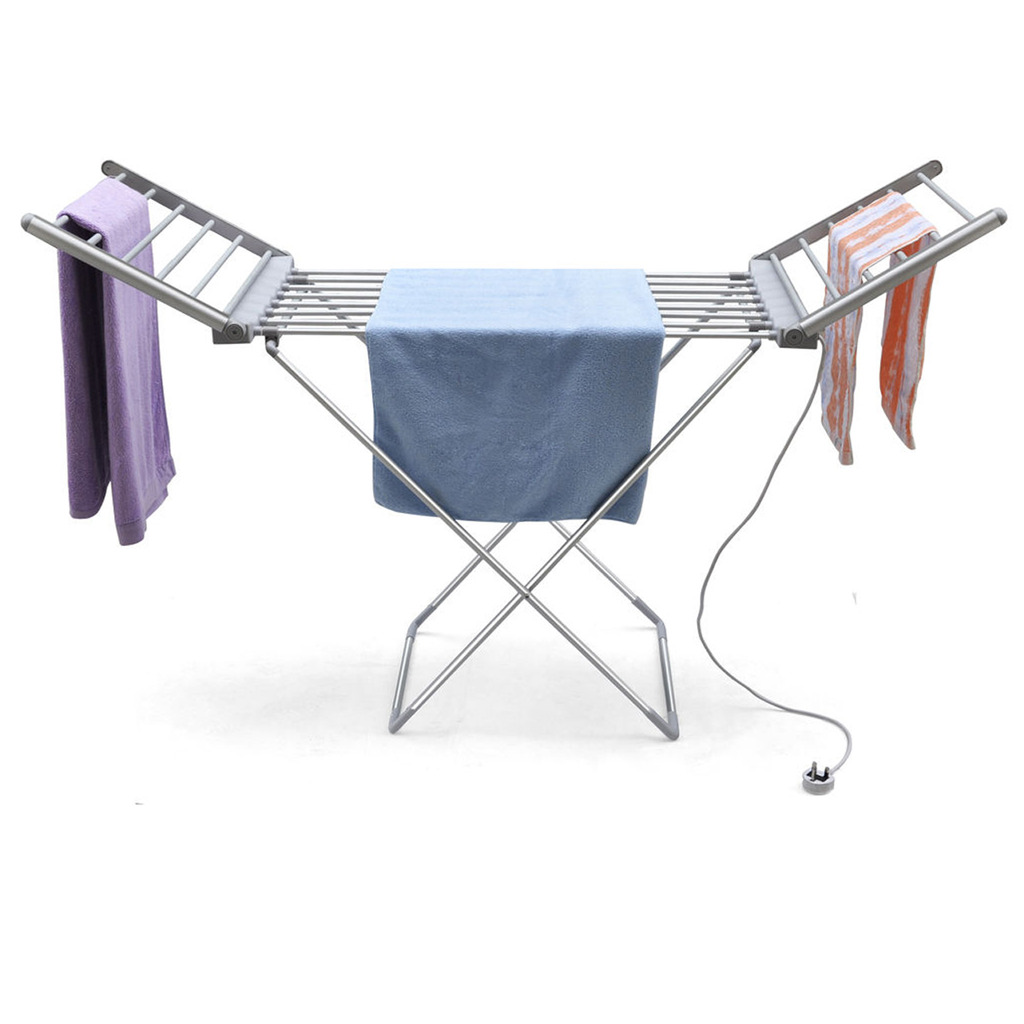 portable storage drying folding laundry itm clothes dryer rack heavy duty hanger