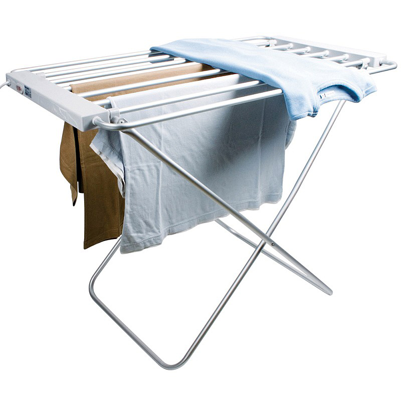 Electric Heated Clothes Airer Dryer Rack Daniel James