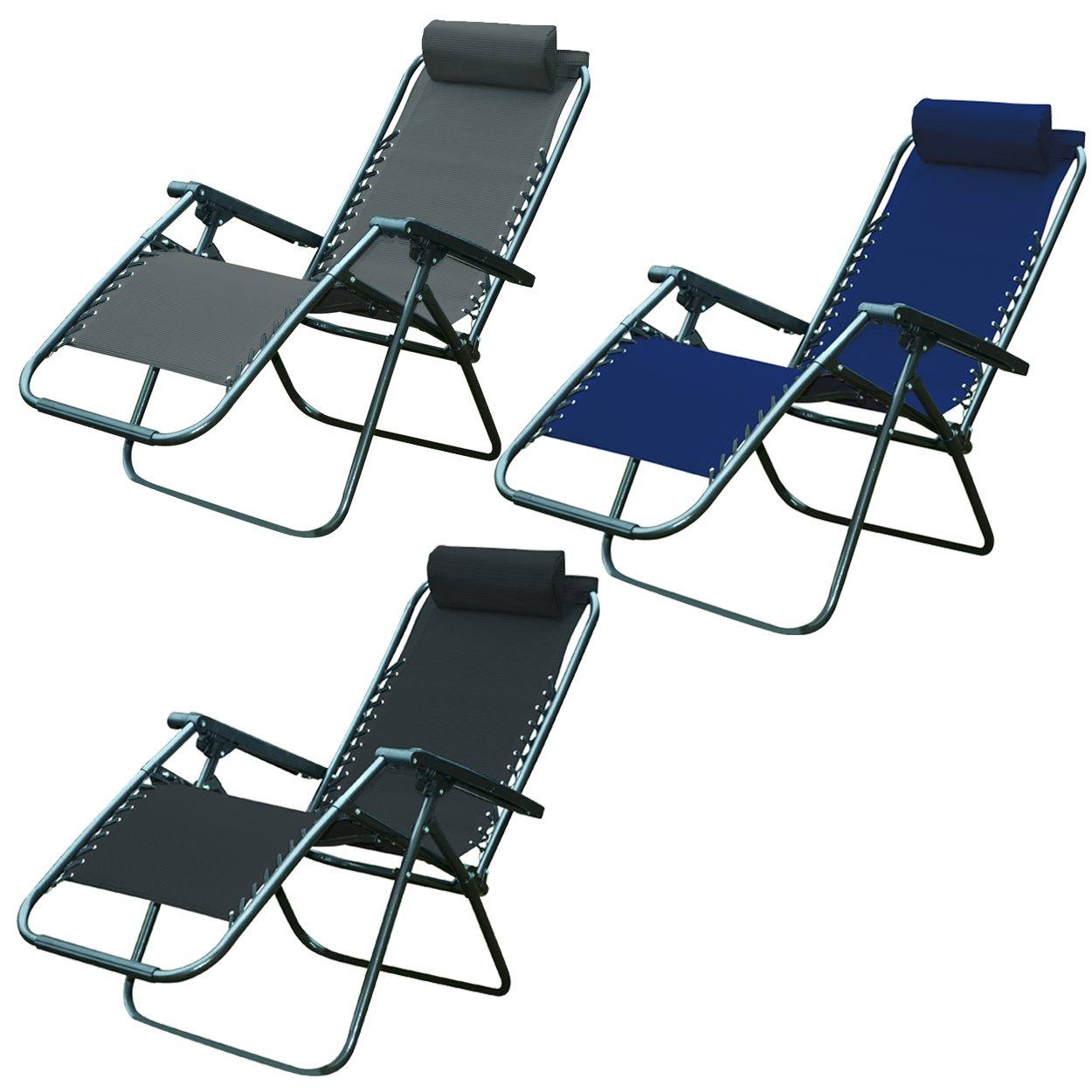 textoline header  sc 1 st  Daniel James Products & Zero Gravity Folding Reclining Sun Lounger Textoline Garden Chairs ... islam-shia.org
