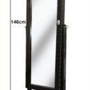 FLOORSTANDING BLACK CLOSED WITH ARROWS