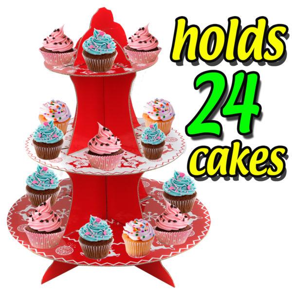 CHRISTMAS CAKE STAND_1
