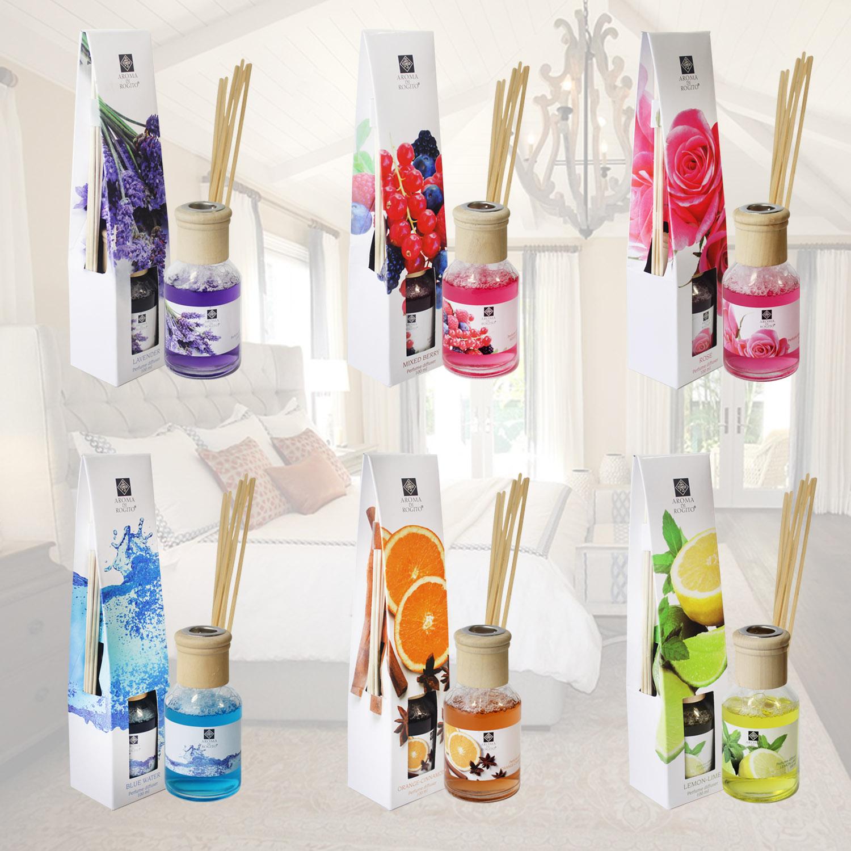 100 Ml Luxury Fragrance Perfume Reed Diffuser Room Air