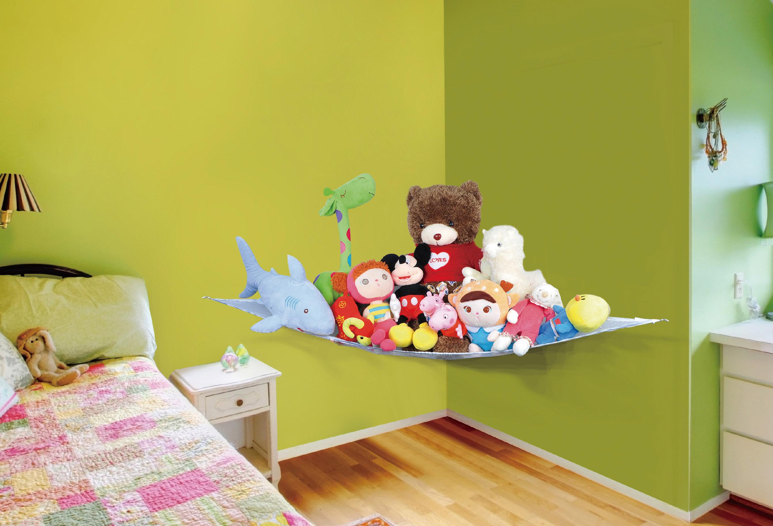 Kids Soft Toy Hammock For Bedroom Or Nursery Daniel