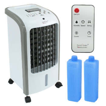 Portable 2-in-1 Air Cooler