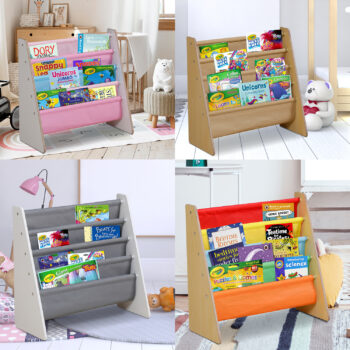 Kids Wooden Bookshelf