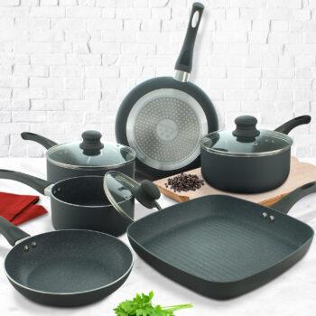 9 piece pan set